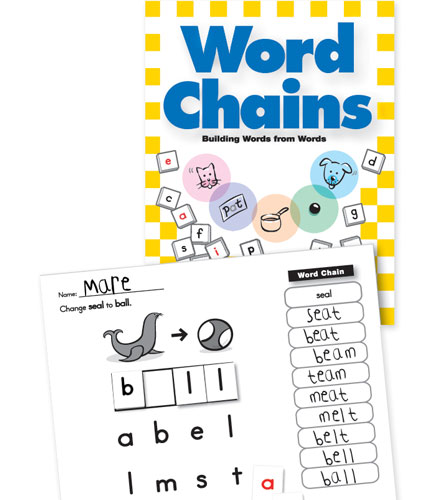 Word Chains Book - Primary Concepts