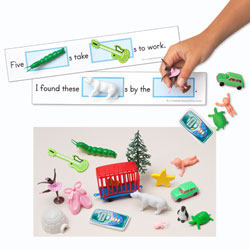 3-D Sight Word Sentences