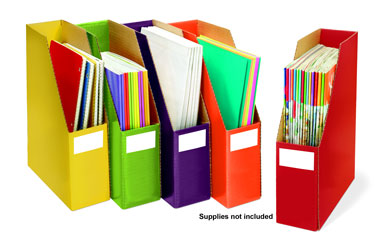 Sensational Classroom™ Storage Files Set of 5