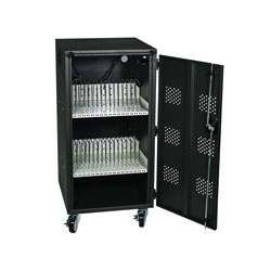 30-Bay Tablet, iPad and Chromebook Charging Station Cart