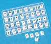 2-Sided Alphabet Letter Tiles (20-pack)